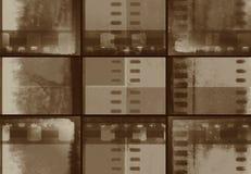Banner film grunge vintage stock images