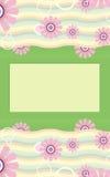 Banner Flower Stock Photo