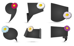 Banner Flower Royalty Free Stock Image