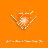 Banner Friendship Day Stock Images