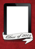 Graduation for 2013 electronic tablet Stock Image