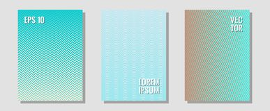 Banner graphics cool vector templates set royalty free illustration