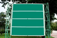 Banner green Royalty Free Stock Photos