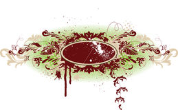 banner grunge dekoracyjny wektora Obraz Royalty Free