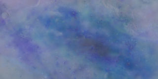 Banner, hand painted spatulate painted sky, with moving clouds, Royalty Free Stock Photography