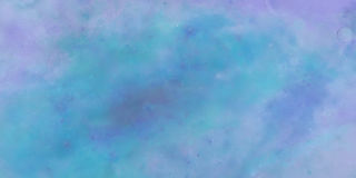 Banner, hand painted spatulate painted sky, with moving clouds, Stock Photos