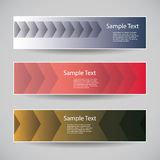 Banner or Header Designs with Abstract Pattern Stock Photos