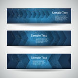 Banner or Header Designs - Arrows Royalty Free Stock Images