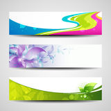 Banner headers Royalty Free Stock Image