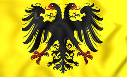 Banner of Holy Roman Emperor Stock Images