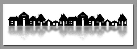 The village Stock Photography