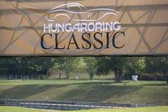 Banner Hungaroring Classic Stock Image