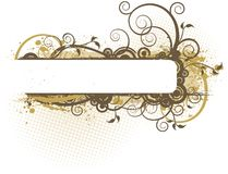 Banner Illustration Royalty Free Stock Photo