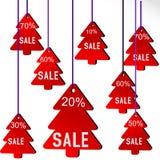 Banner illustration Christmas card Stock Image