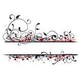 banner ilustracja Obraz Royalty Free