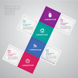 Banner info 1. Abstract 3D Modern template infographics.education and business concept design,can used for banner,infographic,data,presentation business,chart stock illustration