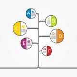 Banner infographic design template. Vector illustration Stock Photo