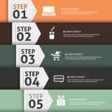 Banner Infographics vector illustration