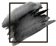Banner ink stain Royalty Free Stock Photo