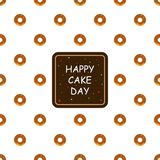 Banner International Cake Day, 20 july. Vector Illustration vector illustration