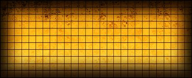 Banner of the iridescent  golden  squares Royalty Free Stock Image
