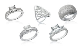 Banner with jewelry stock images