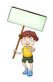 Banner kid Stock Photo