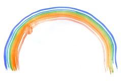 banner kolor krzywej oczek nie ilustracji tęczy white wektor Fotografia Royalty Free