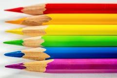 banner kolor krzywej oczek nie ilustracji tęczy white wektor Obraz Royalty Free