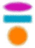 banner kolory w półtonach wektora Zdjęcie Royalty Free