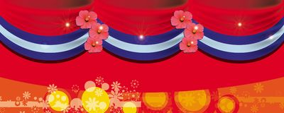 banner kopii scena Obrazy Stock
