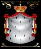 banner królewski ilustracji