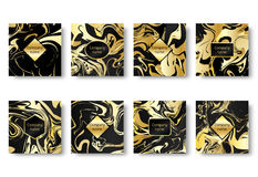 Banner marble print Royalty Free Stock Photo