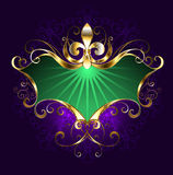 Banner mardi gras Royalty Free Stock Images