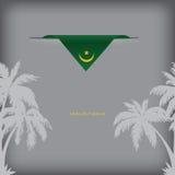 Banner Mauritania Stock Image