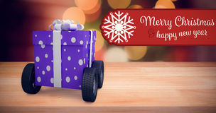 Banner Merry Christmas Royalty Free Stock Photography