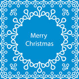 Banner Merry Christmas card Royalty Free Stock Photography