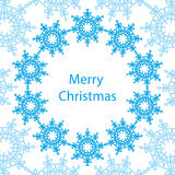 Banner Merry Christmas card Stock Images