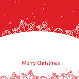 Banner Merry Christmas card Royalty Free Stock Image