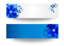 Banner met bloemen Royalty-vrije Stock Fotografie