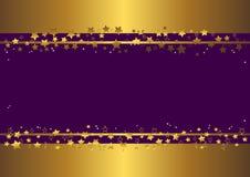 Banner met sterren. vector Stock Fotografie