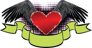 banner miłości Obrazy Royalty Free