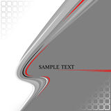 Banner modern wave design Stock Image