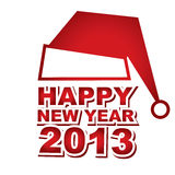 Banner New Year 2013. Vector illustration, banner New Year 2013 Stock Images