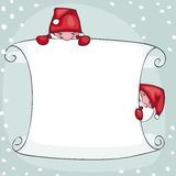 Banner  new year Royalty Free Stock Photo