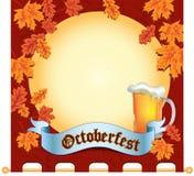 Banner Octoberfest vector illustration