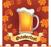 Banner Octoberfest Stock Photography