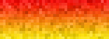 Banner Of The Iridescent Blue Squares Royalty Free Stock Image