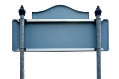 Banner op geïsoleerd. Royalty-vrije Stock Afbeeldingen