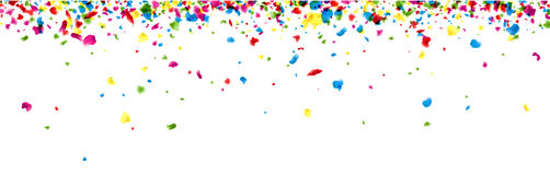 Banner with painted drops. Royalty Free Stock Photography